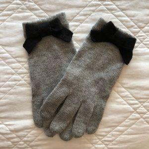 Kate Spade bow gloves!